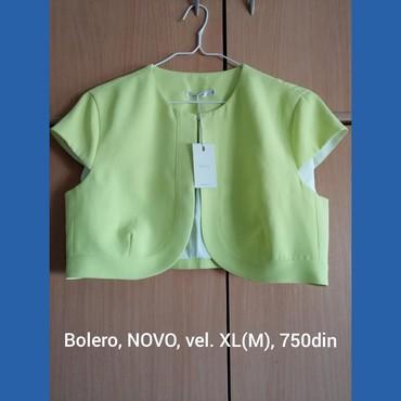 Bolero zelene boje. Novo. XL ali odgovara velicini M. Plaćanje - Belgrade