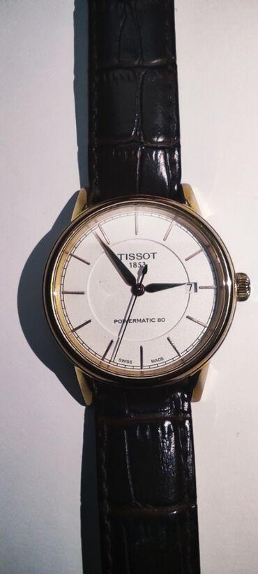 qizil saatlar kisi ucun в Азербайджан: Золотистые Мужские Наручные часы Tissot