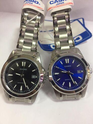 часы-и-нож в Кыргызстан: Синие Женские Наручные часы Casio