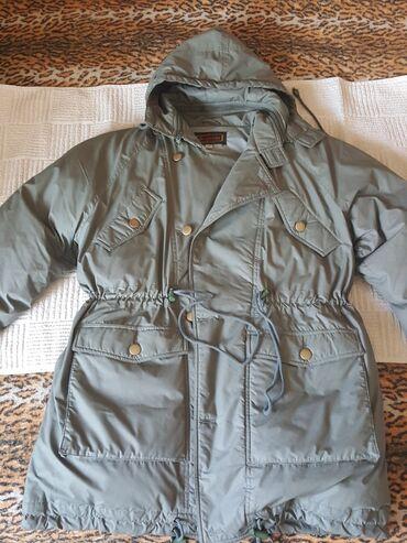 Куртка- пуховик раз.52 новый, состав: верх хлопок+полиэстер