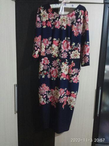 коктейльные платья футляр в Кыргызстан: Платье футляр, одевалось один раз. Размер 48