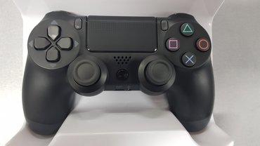 PS4 CRNI Doubleshock Dzojstik - NOVO   Bežični džojstik za Playstation