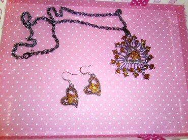 Set minđuše i ogrlica, kupljeno u Zari pre nedelju dana - Leskovac