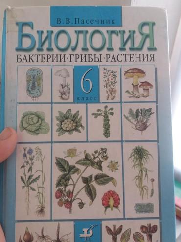 биолог в Кыргызстан: Книги биология 6 класс