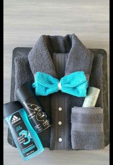 Подарок для мужчины  Полотенца  Гель для бритья  Шампунь  Пена для бр