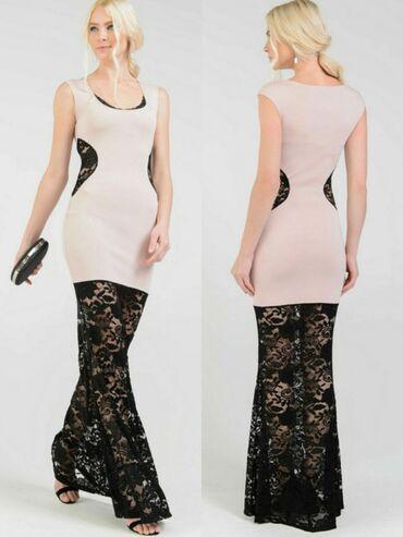 вечерние платья для свадьбы в Кыргызстан: Шикарное вечернее платье. Новое с этикеткой. Размер 44 или М. Цвет