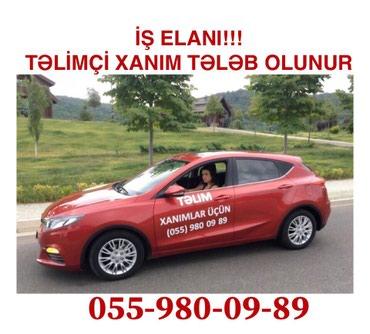 """Bakı şəhərində """"Xanımlar üçün təlim"""" sürücülük mərkəzinə"""
