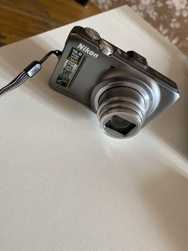 nikon d90 - Azərbaycan: Fotoaparat Nikon Coolpix S9300 satılır. Çox istifadə olunmayıb heç bir
