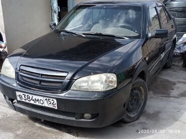 chernaja chery в Кыргызстан: Chery Amulet (A15) 1.6 л. 2006 | 199000 км
