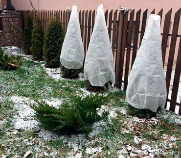 СПАНБОНД-УКРЫВНОЙ МАТЕРИАЛ. Белым спанбондом плотностью 42 г/м2 можно