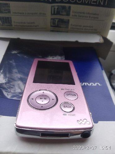 Продаю музыкальный плеер SONY Walkman 4gb. Привезенный с Турции