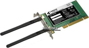 WIFI Linksys WMP600N Wireless-N PCI Adapter with Dual-Band в Бишкек