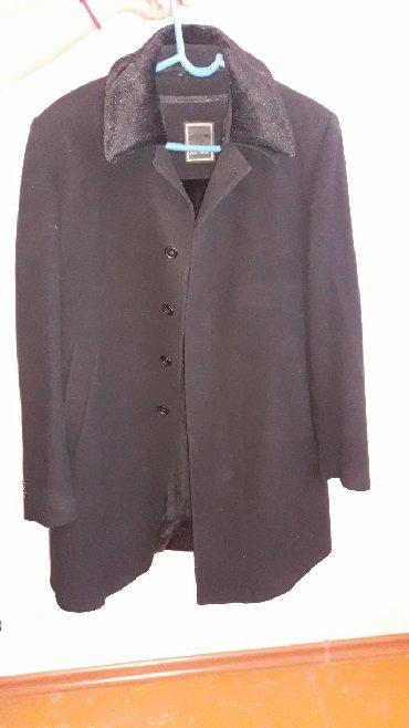 Пальто - Сокулук: Продаю пальто размер 54. Мужское пальто, черного цвета. Кашемир