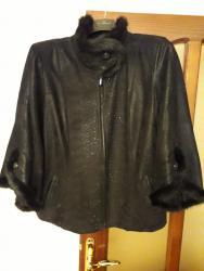 женские твидовые жакеты в Азербайджан: Куртка женская из натурального набука,отделки по краям из норки