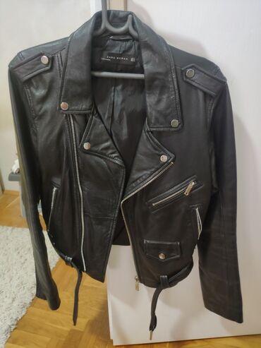Zara kozna jakna,br 42,xl.Nosena par puta,u dobrom stanju