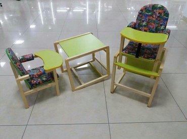 Цена 3500с. Стульчики для кормления в Бишкек