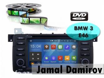 Bakı şəhərində BMW E46 üçün DVD-monitor, DVD-монитор для BMW E46.