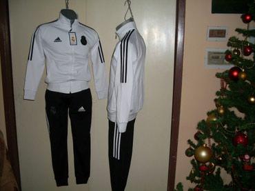 Dečije trenerke-komplet REAL MADRID, JUVENTUS, BARSELONA . Veličine - Nis