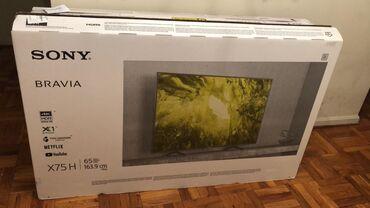 Sony 65X750H (165cm). Amerikadan getirilib. Meksika istehsalı. Mehdud