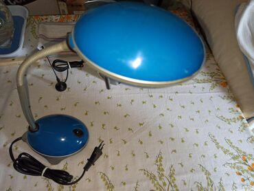 Stona lampa - Srbija: Stona lampa-Plave boje LED  Potpuno ipravna kvalitetna za radni sto za