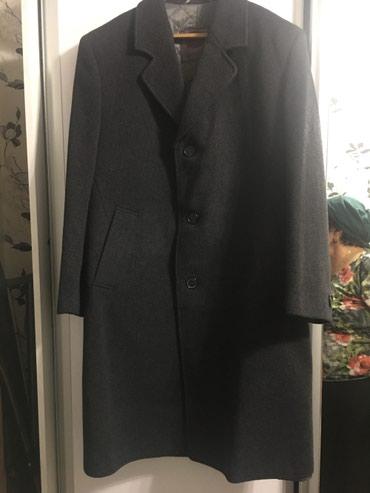 Натуральное драбовое пальто мужское в Кок-Ой