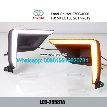 Toyota Land Cruiser Prado FJ150 LC150 DRL LED Daytime Running Light in Tīkapur