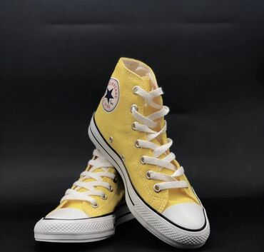 Женская обувь - Бишкек: «Converse» - желтые Размеры: 36, 37, 38, 39, 40, 41, 42, 43
