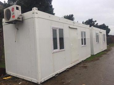 40 futluq dniz konteyneri - Azərbaycan: Sendvic panel Konteyner satilir