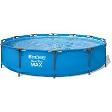 Продаётся бассейн, ОписаниеКаркасный бассейн Bestway 5 отличается