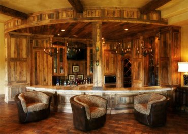 Bakı şəhərində Restoranlar pub ucun barlarin yigilmasiher nov taxta iwleriRestoran