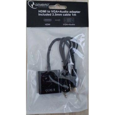 Pretvarac - Srbija: DOSTUPAN ! NA STANJU ! Potpuno nov HDMI na VGA adapter.Pretvara