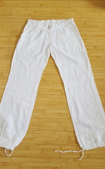 Zebra Lanene Pantalone (Svajcarska)Prelepe Zebra Lanene Pantalone