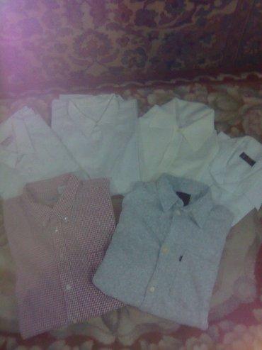 Продаю рубашки мужские б/у по 100 сом.Размеры от 48 до 56. в Бишкек