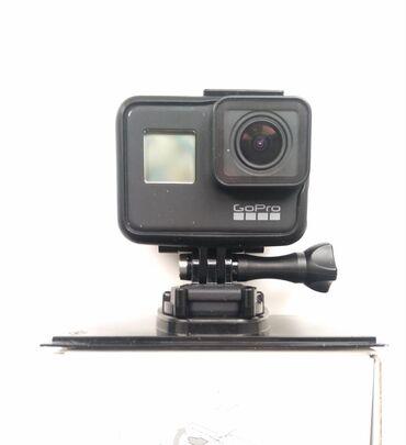 купить мини видеокамеру в Кыргызстан: Продаю GoPro Here 7 black с картой памятью 32 gb. Куплено год назад