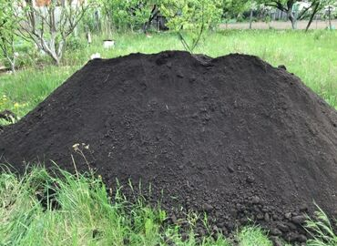 Чернозём чистый рыхлый горный без мусора .Чернозем для огорода