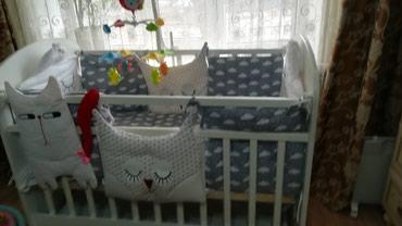 Продаю детскую кроватку в отличном в Бишкек