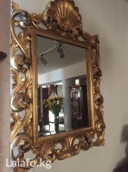 Золотое зеркало производства италия в Бишкек