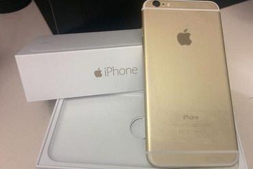 Bakı şəhərində Iphone 6 gold 32 GB 6 ayin telefonudu ref deyil umiyetle iphone 6 32GB