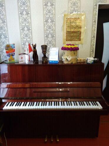 Пианино, фортепиано - Бишкек: Продается пианино (пианино сатылат)Срочно! Цена 17 000 сом. реальным