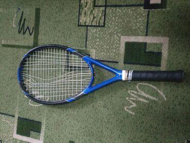 Ракетка для большого теннисакарбон с титаномтрещин нет