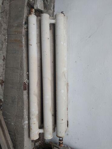 радиаторы отопления цена за секцию in Кыргызстан | АВТОЗАПЧАСТИ: Регистры 2шт  Труба 100 Длина 1.5м  Цена за один 2500