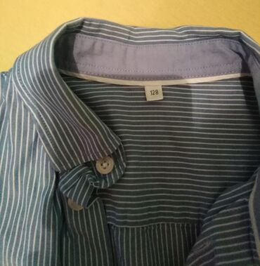 Loznica - Srbija: Košulja za dečake. Pamučna.Broj 6. Nema oštećenja. 2,3 puta nošena