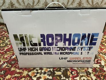 Электроника - Кыргызстан: Продаю совершенно новые микрофоны. Не использованные