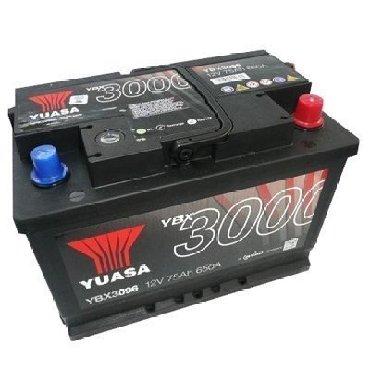 bmw-7-серия-activehybrid-7 - Azərbaycan: Yuasa Battery 75Ah 12V 650A (EN) (278x175x190) YBX3096-075 KR . FLEETS