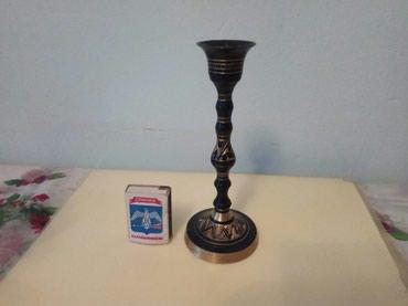 Подсвечники - Кыргызстан: Подсвечник латунь