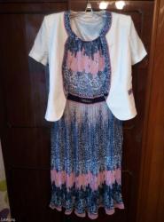 Платье +пиджак, размер 46 в Бишкек