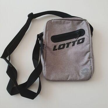Lotto muska torbica, nova, ima etiketu. Odican kvalitet