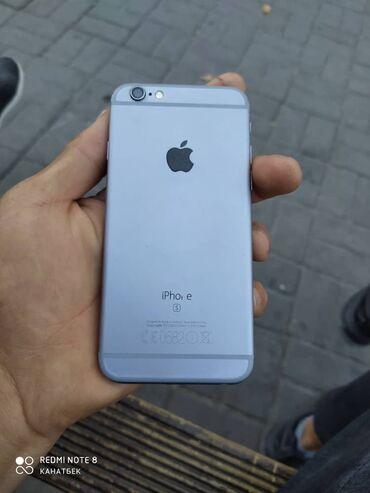 компьютер купить в Кыргызстан: Б/У iPhone 6s 128 ГБ Черный