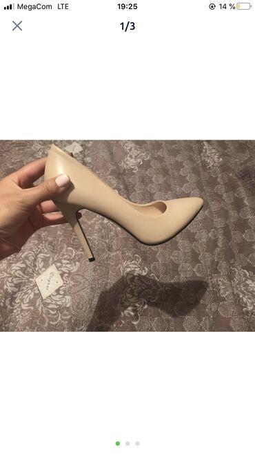 мужские-туфли-бишкек в Кыргызстан: Новые туфли есть 2 пары  Размер 36  Каблук 8 см