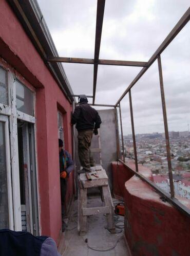 bakıda kiraye evler - Azərbaycan: Evlerde Temir . balkonlarin baqlanmasi wifer patalok pol opwi lambire